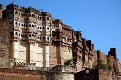 Forte de Meharangarh de Rajasthan. Imagens de Stock Royalty Free