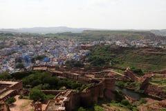 Forte de Meherangarh em Jodhpur imagens de stock royalty free