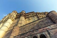Forte de Meherangarh - jodhpur - india Imagens de Stock Royalty Free