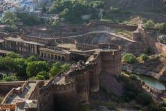 Forte de Mehrangarh, Jodhpur Imagens de Stock