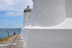 Forte de Monte Serrat, Salvador de Bahia (Brazil) Royalty Free Stock Photo