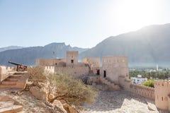 Forte de Nakhal, Oman imagem de stock