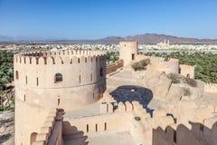 Forte de Nakhal, Oman imagem de stock royalty free