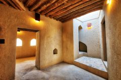 Forte de Nizwa em Oman foto de stock royalty free