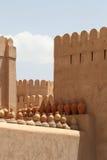 Forte de Nizwa, Omã imagem de stock royalty free