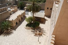 Forte de Nizwra, Oman Fotos de Stock Royalty Free