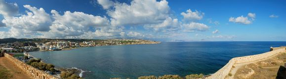 Forte de Rethymnon Fotos de Stock