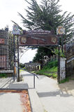 Forte de San Antonio em Ancud, ilha de Chiloe, o Chile imagens de stock royalty free