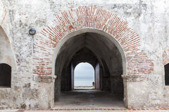Forte de San Fernando de Bocachica Imagem de Stock