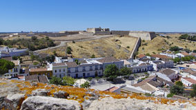 Forte de Sao Sebastiao in Castro Marim Stock Photo