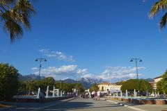 Forte dei Marmi, Versilia Royalty Free Stock Photography
