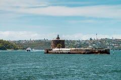 Forte Denison, Sydney Harbour Foto de Stock