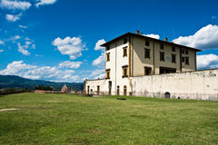 The Forte di Belvedere , Italy Stock Photo