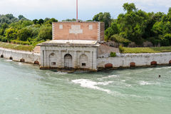 Forte- di Sant' Andrea Fotografering för Bildbyråer