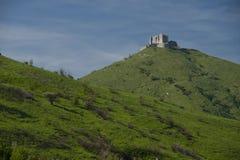 Forte Diamante on the hills of Genova Stock Photos
