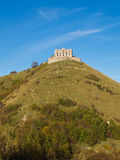 Forte Diamante old abandoned Castle at the top of a steep hill Stock Photos