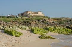 Forte do Pessegueiro dichtbij Porto Covo, Portugal Royalty-vrije Stock Fotografie