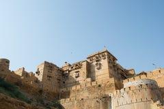Forte dourado no jaisalmer Imagens de Stock