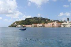 Forte e cidade Foto de Stock