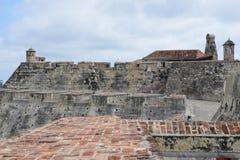 Forte em Cartagena, Colômbia Imagem de Stock Royalty Free