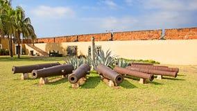 Forte em Maputo, Mozambique Imagem de Stock