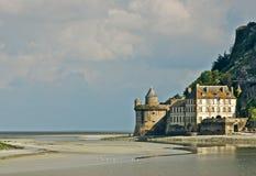 Forte em St. Michel de Mont Imagem de Stock