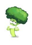 Forte eroe dei broccoli Fotografia Stock Libera da Diritti