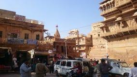 Forte famoso de Jaisalmer Imagem de Stock Royalty Free