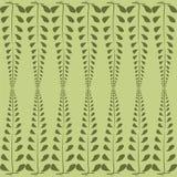 Forte fondo di verde della foglia Fotografia Stock
