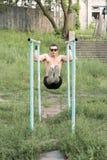 Forte giovane atleta Immagini Stock