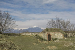 Forte Grande Monte Croce Stock Photography