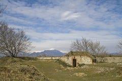 Forte Grande Monte Croce Stock Photo
