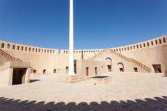 Forte histórico de Nizwa, Omã foto de stock royalty free