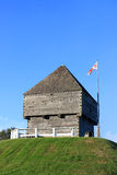 Forte Howe, Saint John, N.B. Fotografia de Stock