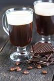 Forte irish coffee tradizionale fotografia stock
