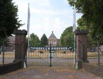 Forte Isabella em Vught, os Países Baixos imagem de stock