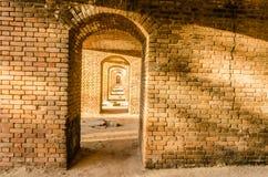 Forte Jefferson Brick - parque nacional seco de Tortugas - FL Fotografia de Stock