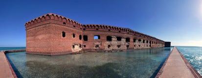 Forte Jefferson, parque nacional seco de Tortugas, chaves de Florida Fotos de Stock