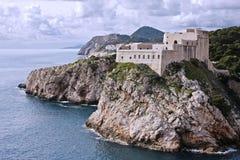 Forte Lovrijenac em Dubrovnik (Croatia) Imagem de Stock