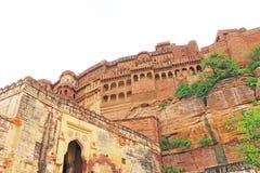 Forte mágico de Mehrangarh, Jodhpur, Rajasthan, india imagens de stock royalty free