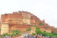 Forte mágico de Mehrangarh, Jodhpur, Rajasthan, india foto de stock royalty free