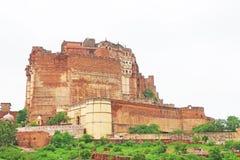 Forte mágico de Mehrangarh, Jodhpur, Rajasthan, india imagem de stock