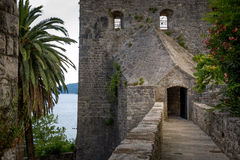 Forte Mare ancient fortress secretive entrance Royalty Free Stock Image