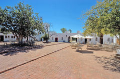 Forte Namutoni, parque nacional de Etosha, Namíbia Foto de Stock Royalty Free