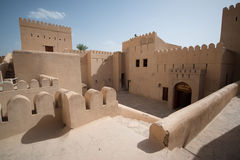 Forte Omã de Nizwa Fotos de Stock Royalty Free