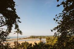 Forte portugu?s Aguada Goa, Candolim India Forte antigo e farol construídos no século XVII em Goa foto de stock royalty free