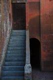 Forte Pulaski Geórgia fotografia de stock