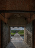Forte Pulaski perto de Tybee Island Fotos de Stock