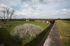 Forte Pulaski perto de Tybee Island Foto de Stock