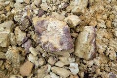 Forte roccia Fotografia Stock Libera da Diritti